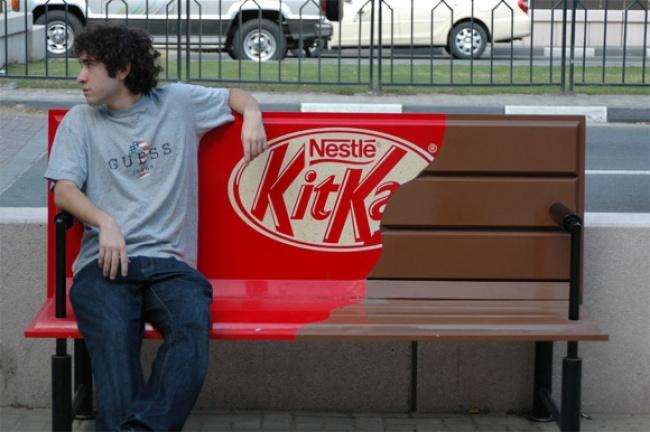 Плитки шоколада KitKat.
