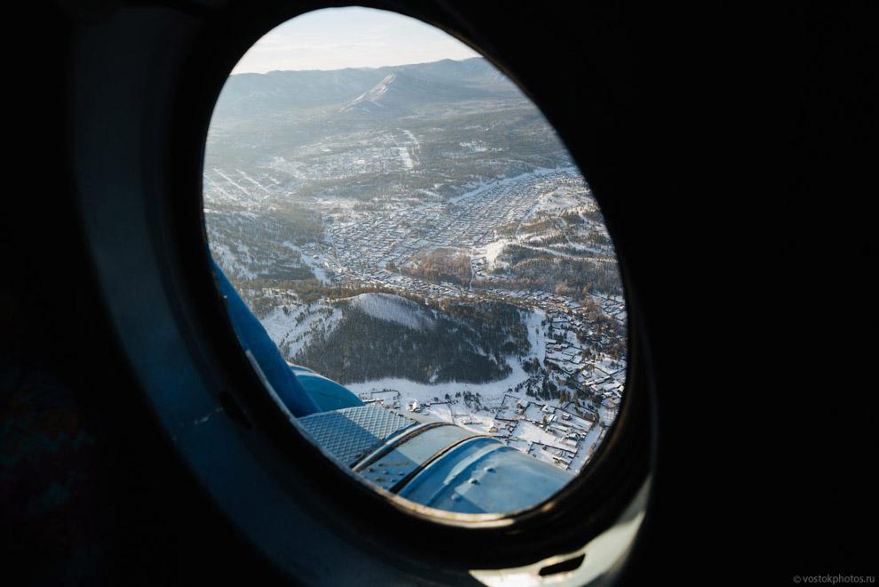 6. Летели мы над красотой. Важное для фотографа отличие МИ-8 от среднемагистральных самолетов —