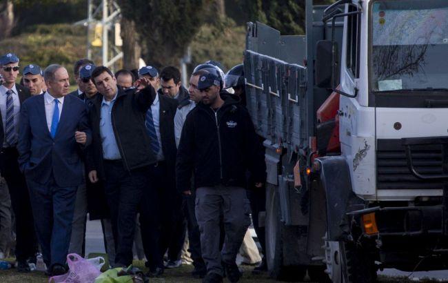 ВИзраиле арестованы подозреваемые впричастности ксовершенному накануне теракту нагрузовике