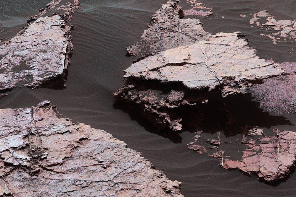 НаМарсе найдены следы воды