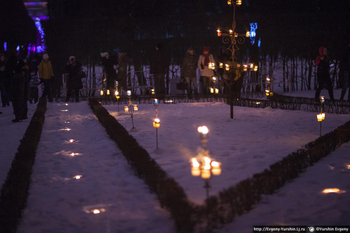 Фестиваль вечер света в Царском селе