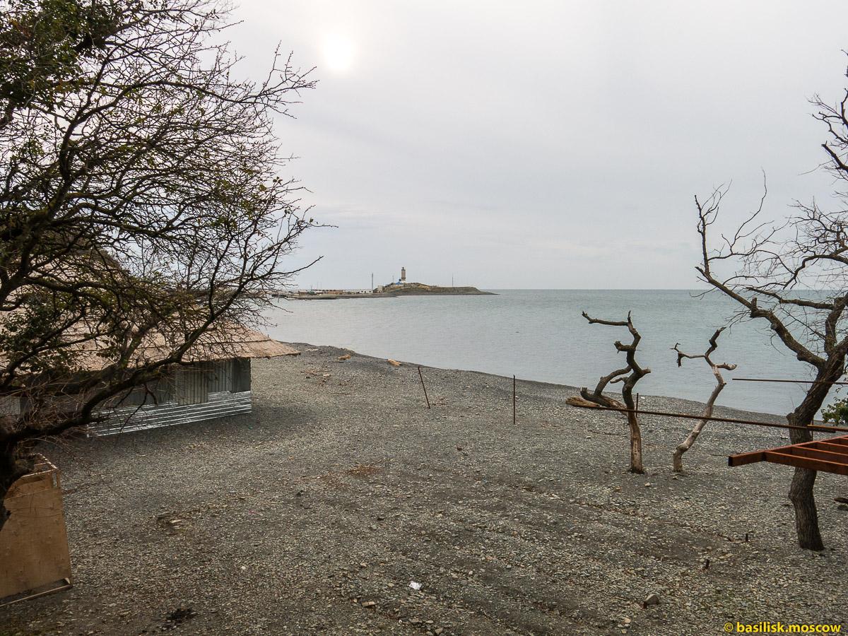 Большой Утриш. Черное море. Сукко. Октябрь 2016
