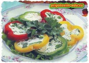 Закуска из болгарского перца