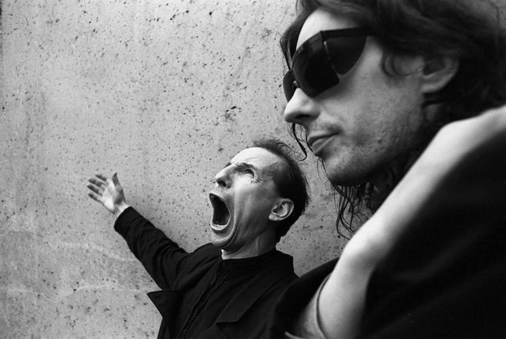 Петр и Алексей Мамоновы, Москва, 1990 год.
