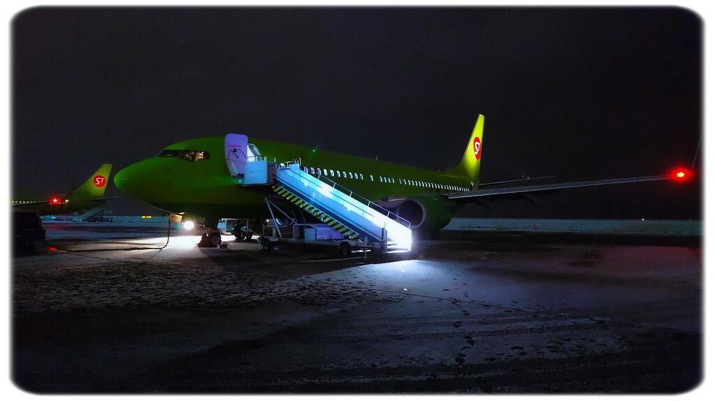 Зима пришла: рейс Москва - Новосибирск - Москва