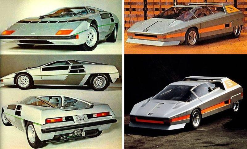 Кконцепт-кары 70-х и 80-х годов прошлого века