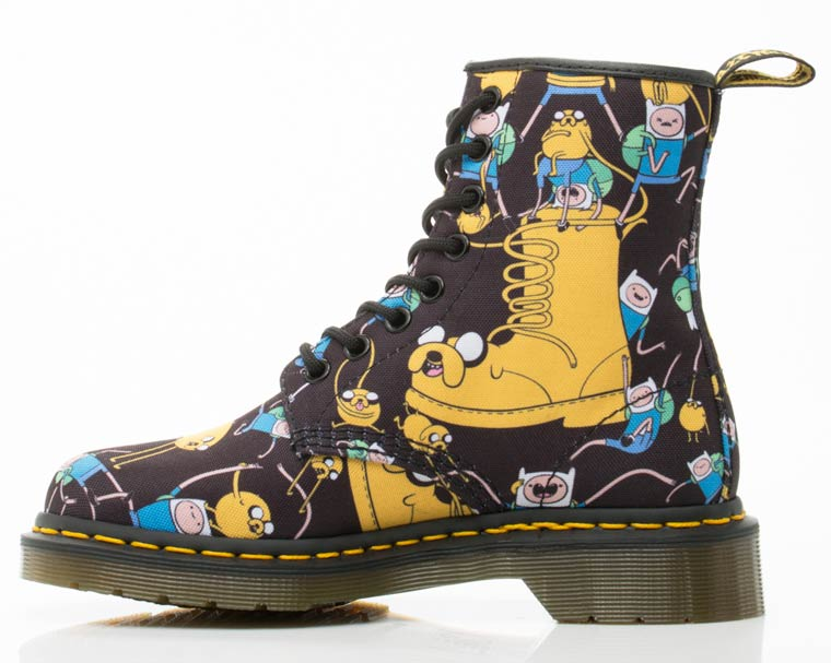 Adventure Time x Dr. Martens - Some cute shoes for the fans of Finn and Jack
