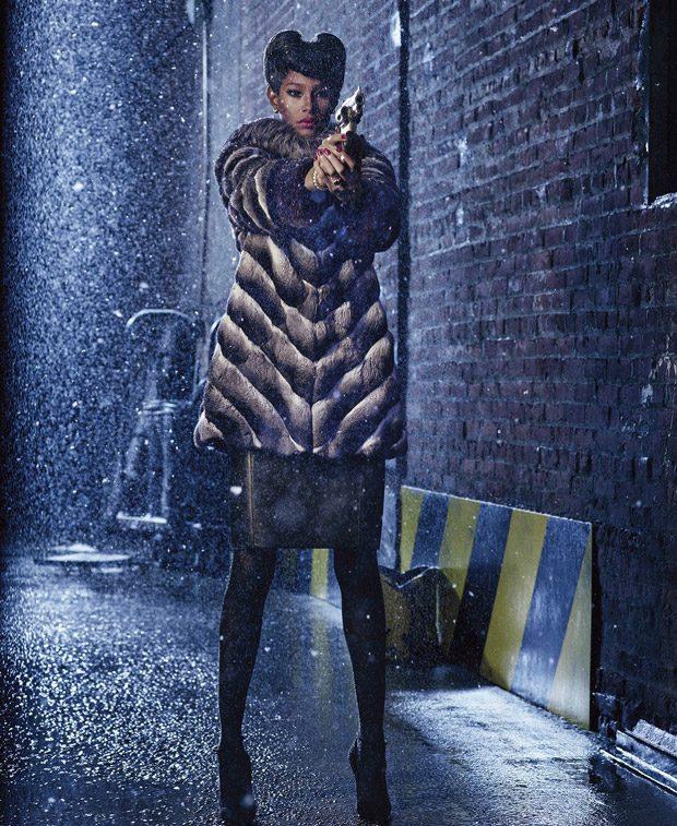Blade Stunner: Ysaunny Brito & Alexandra Elizabeth for Harper's Bazaar US