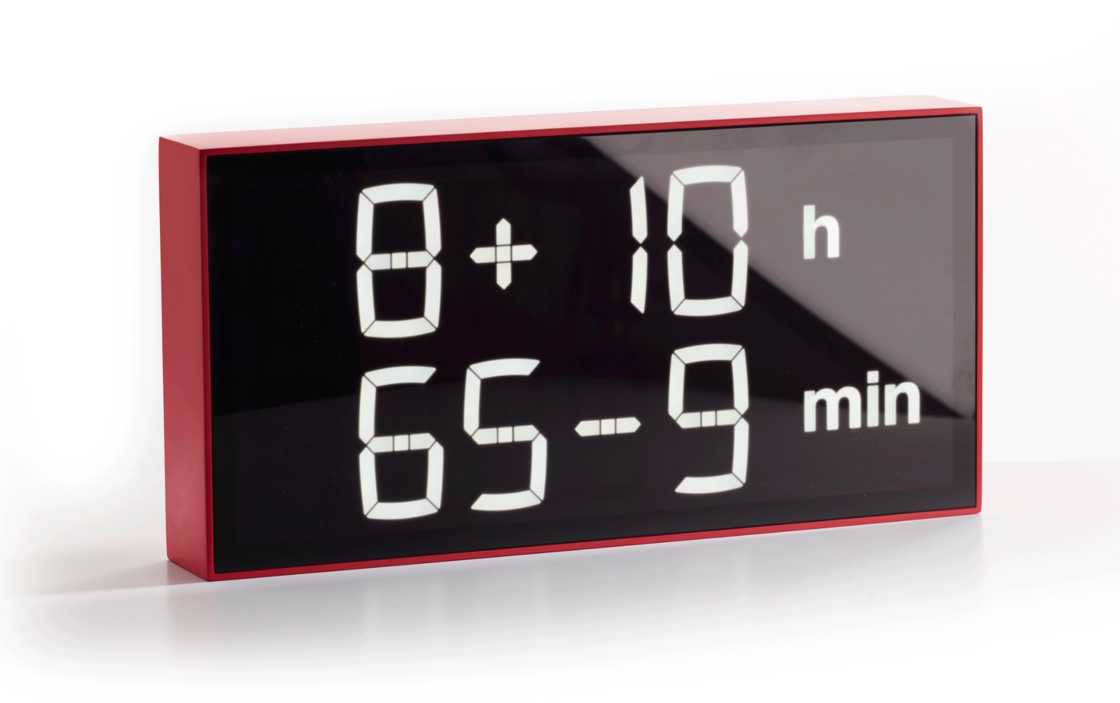 Albert Clock - The clock that will improve your math skills