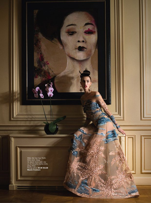 India Ruiterman Takes The Silk Road for Elle Vietnam April 2017 Issue