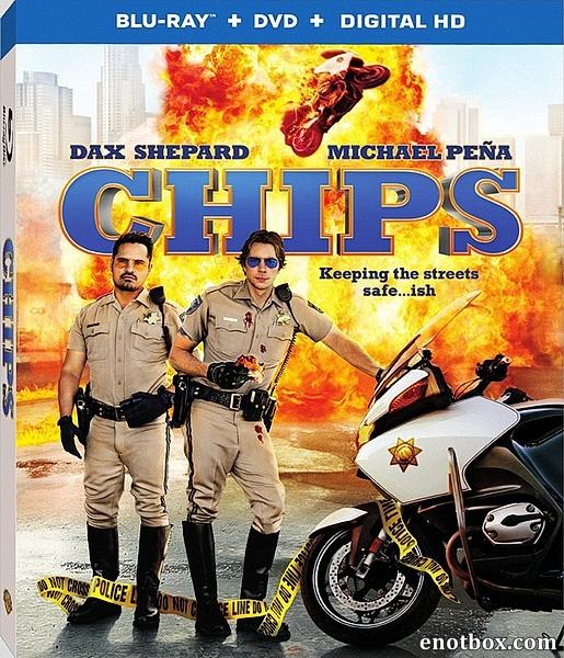 Калифорнийский дорожный патруль / CHIPS (2017/BDRip/HDRip)