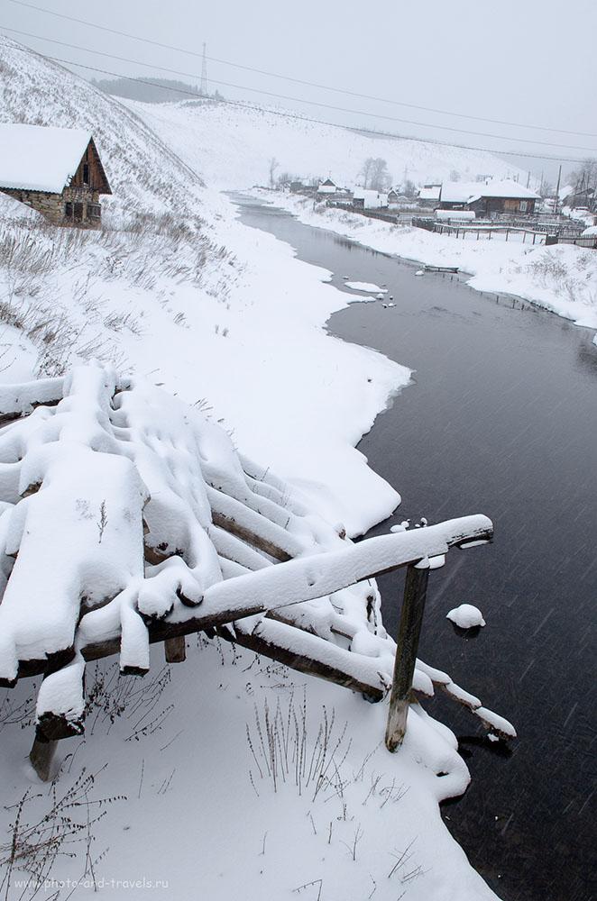 Фото 36. Зима... Как фотографировать в холодное время. Настройки при съемке: 1/60 сек, f/8, 17 мм, 250