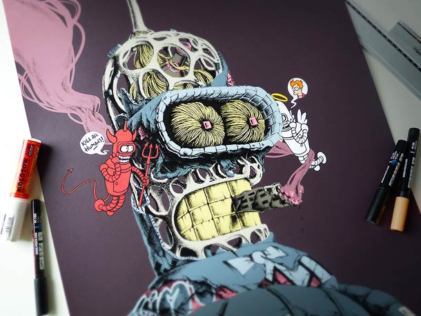 Distroy Part II - Nouvelles superbes illustrations de PEZ