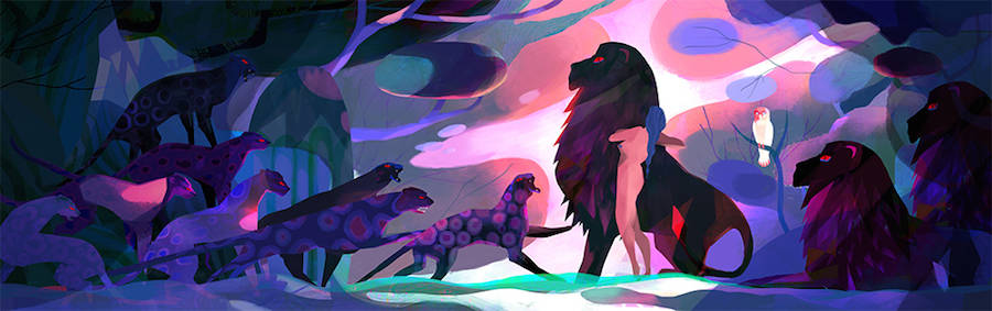 Dreamy & Fantastic Forest Illustrations