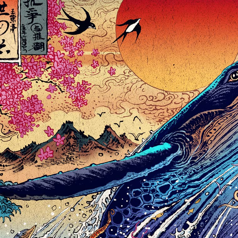 Impetuous World Life - The beautiful and colorful illustrations of Rlon Wang