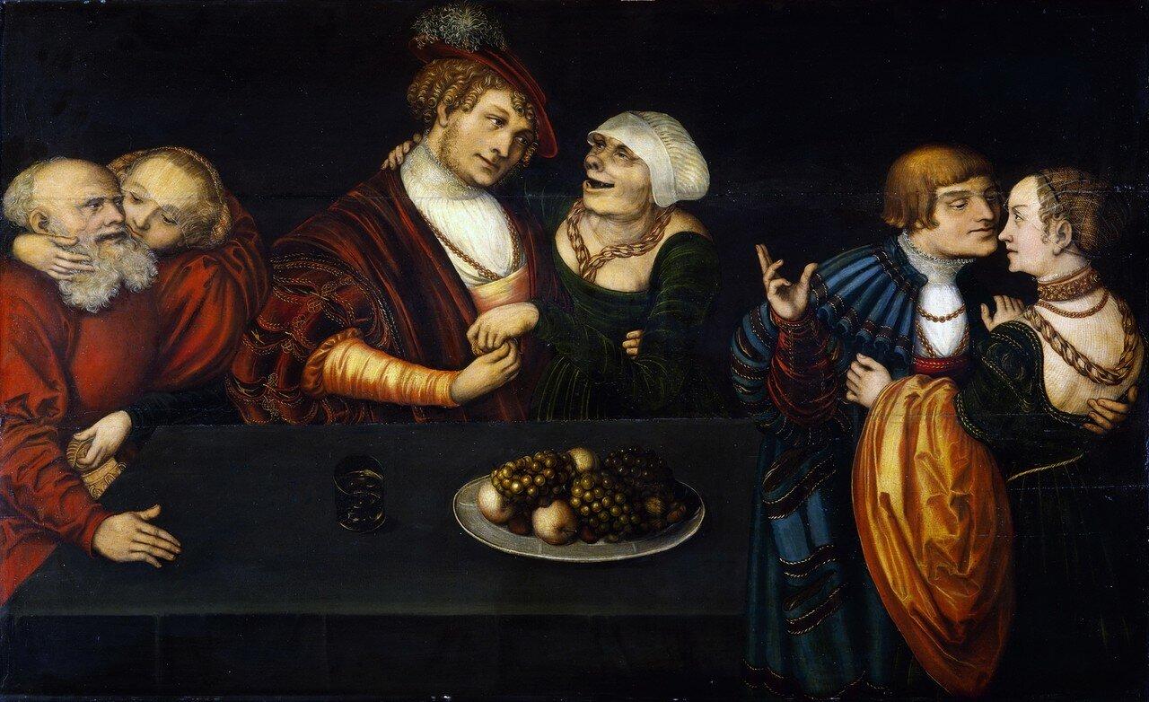 Три пары любовников_после 1537_д.,м._Дрезден, Картинная галерея старых мастеров.jpg