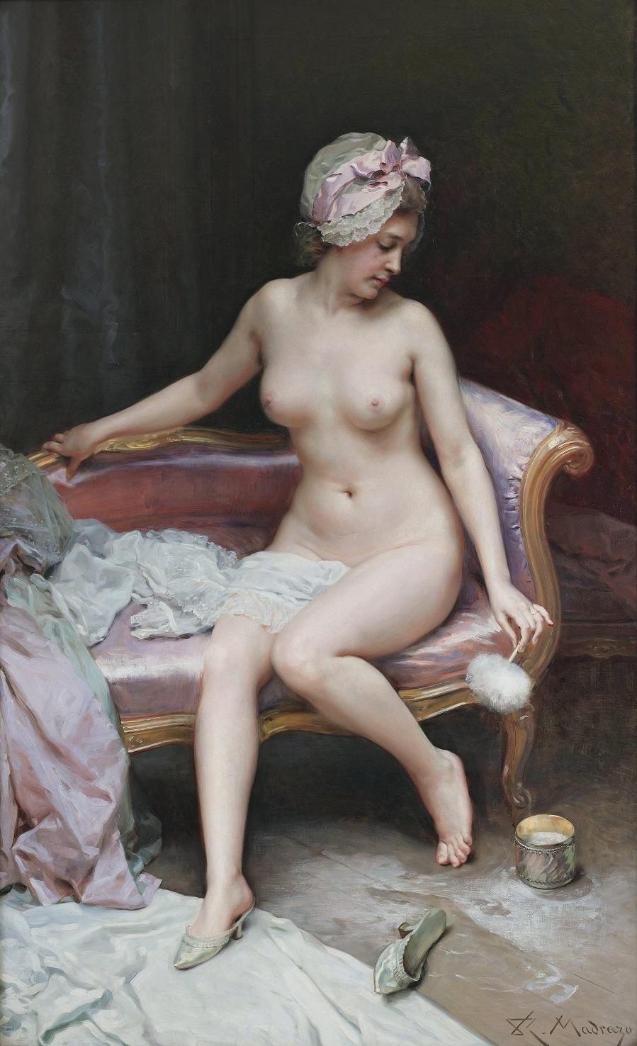Después del baño, by Raimundo de Madrazo y Garreta