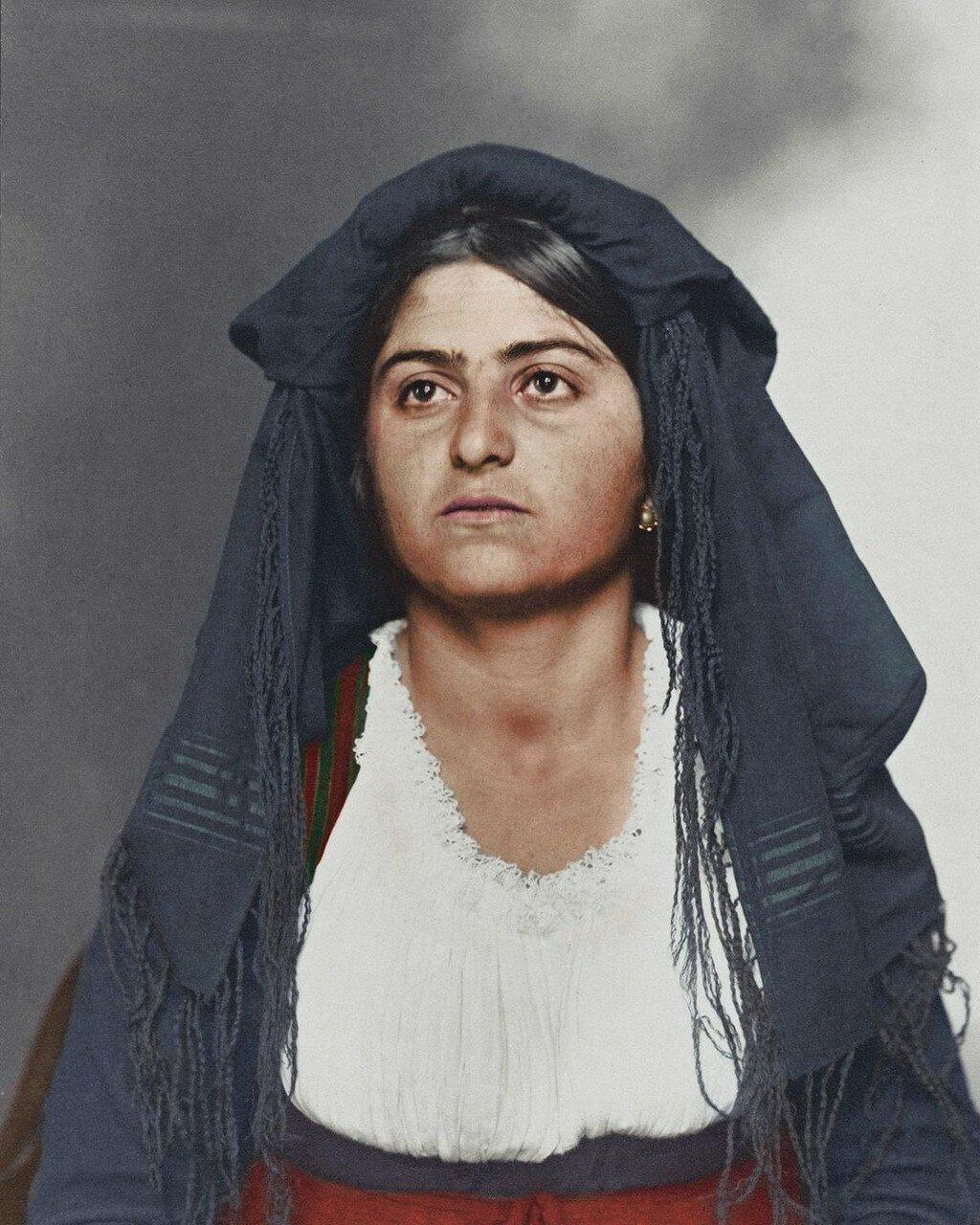 Итальянка. 1909