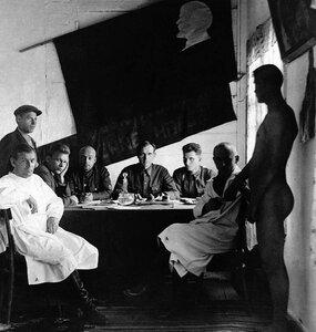 Челябинск. Призывная комиссия в Горвоенкомате. 1935