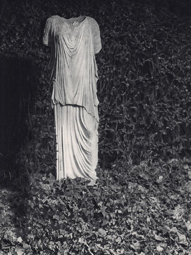 1937. В саду мастерской Аристида Майоля в Марли-ле-Руа