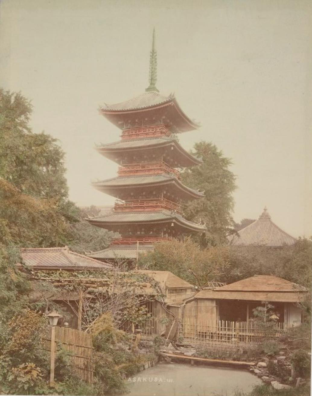 Токио. Асакуса. Сэнсо-дзи