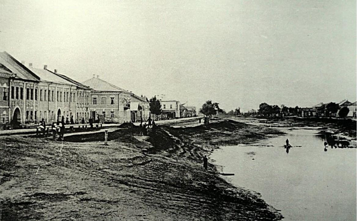 Набережная реки Перерытицы. 1860-е