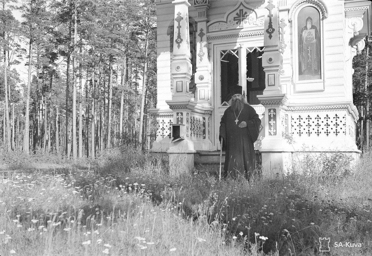 1941. Игумен у Часовни Успения Пресвятой Богородицы