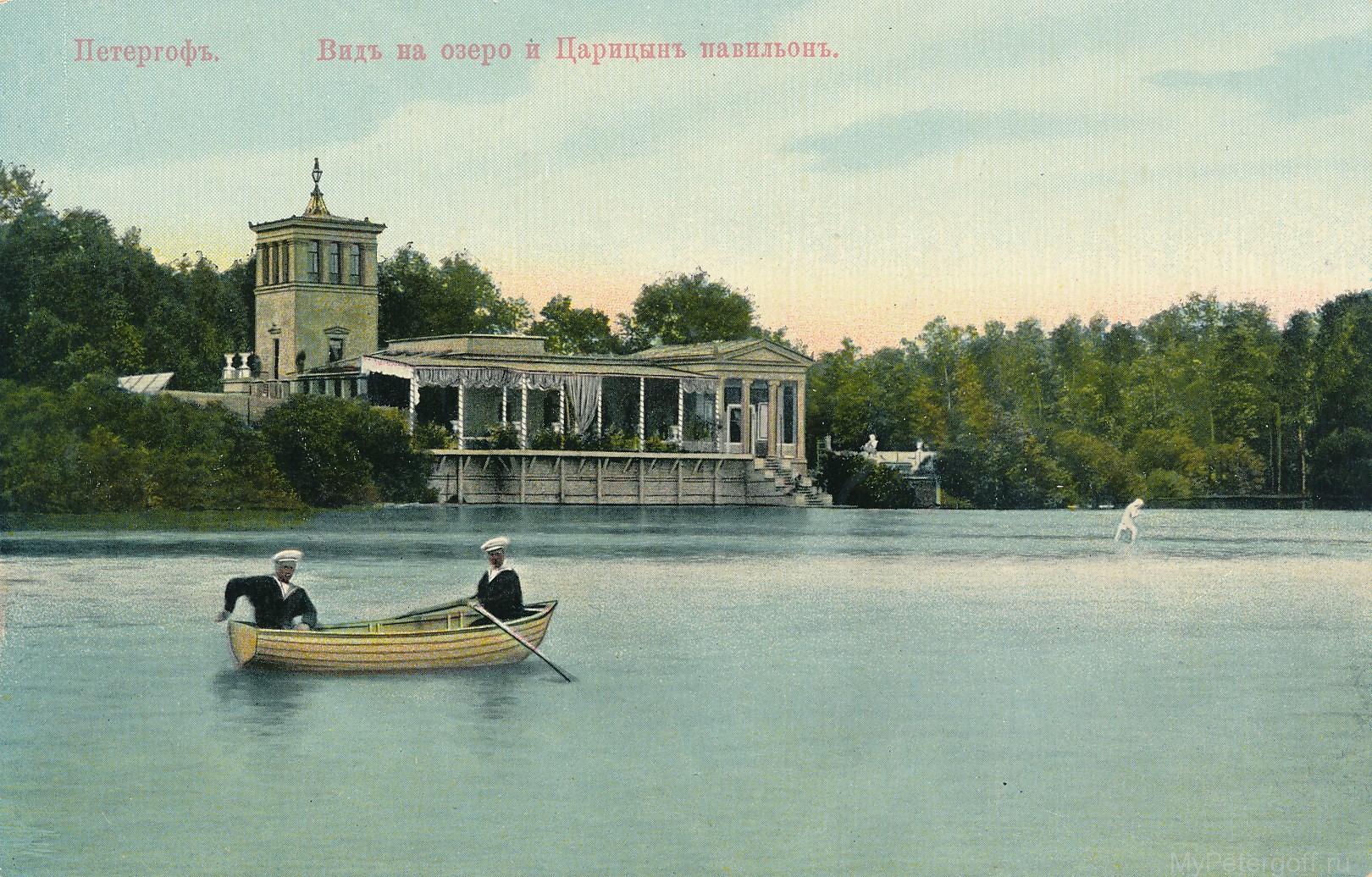 Царицын остров и павильон