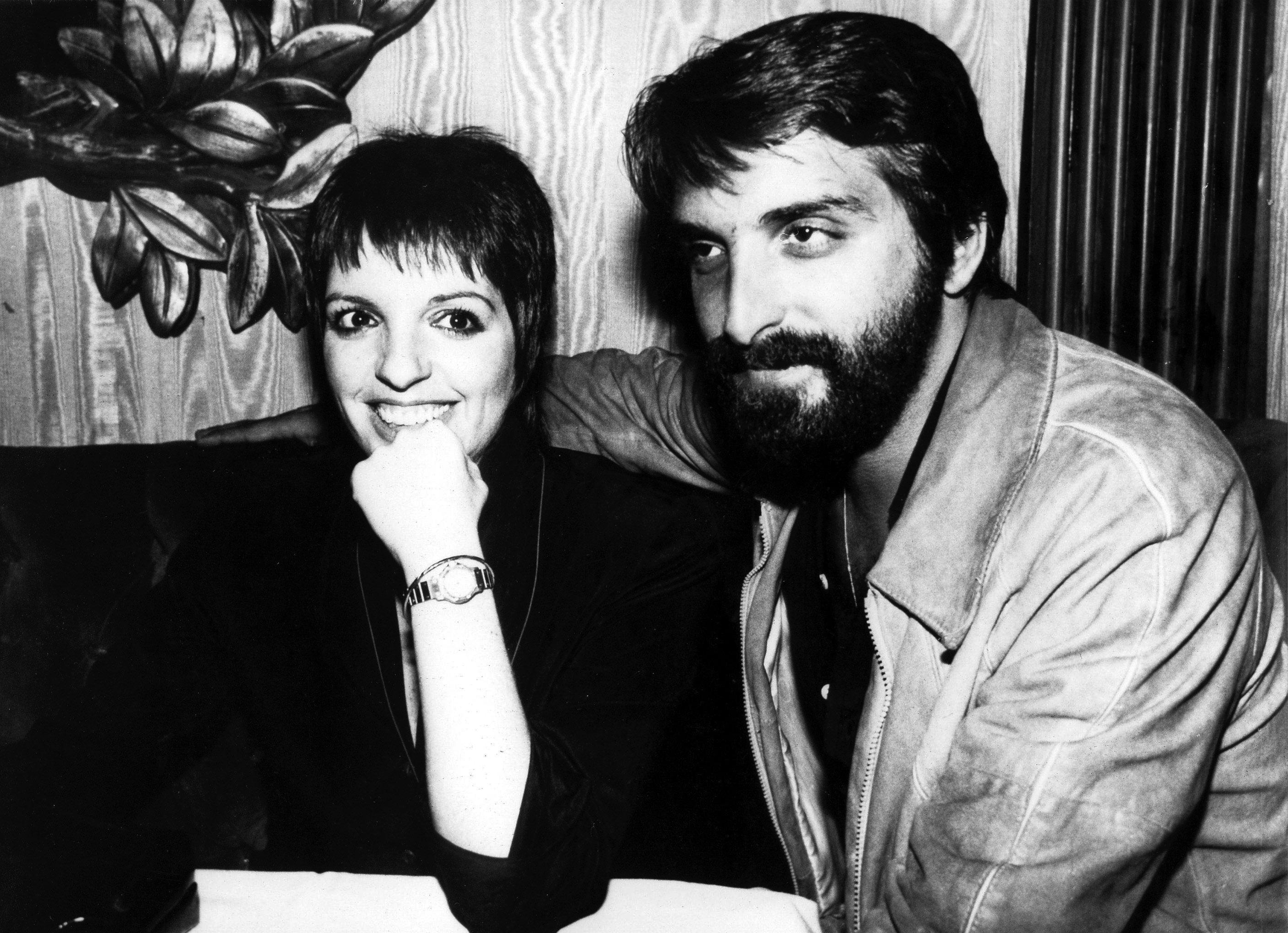 Liza MINNELLI und Ehemann Marc Gero, undatiert