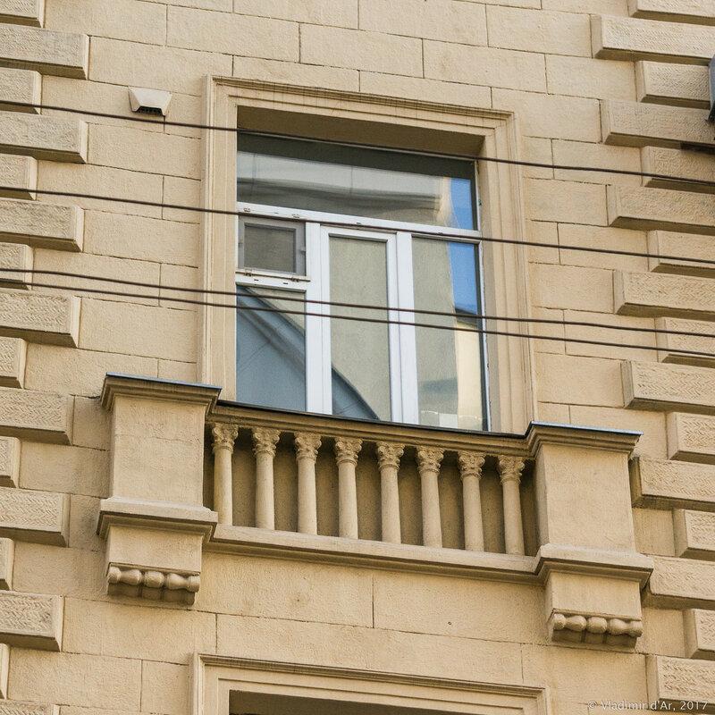 Малый Козихинский переулок, 12. Доходный дом (1914).