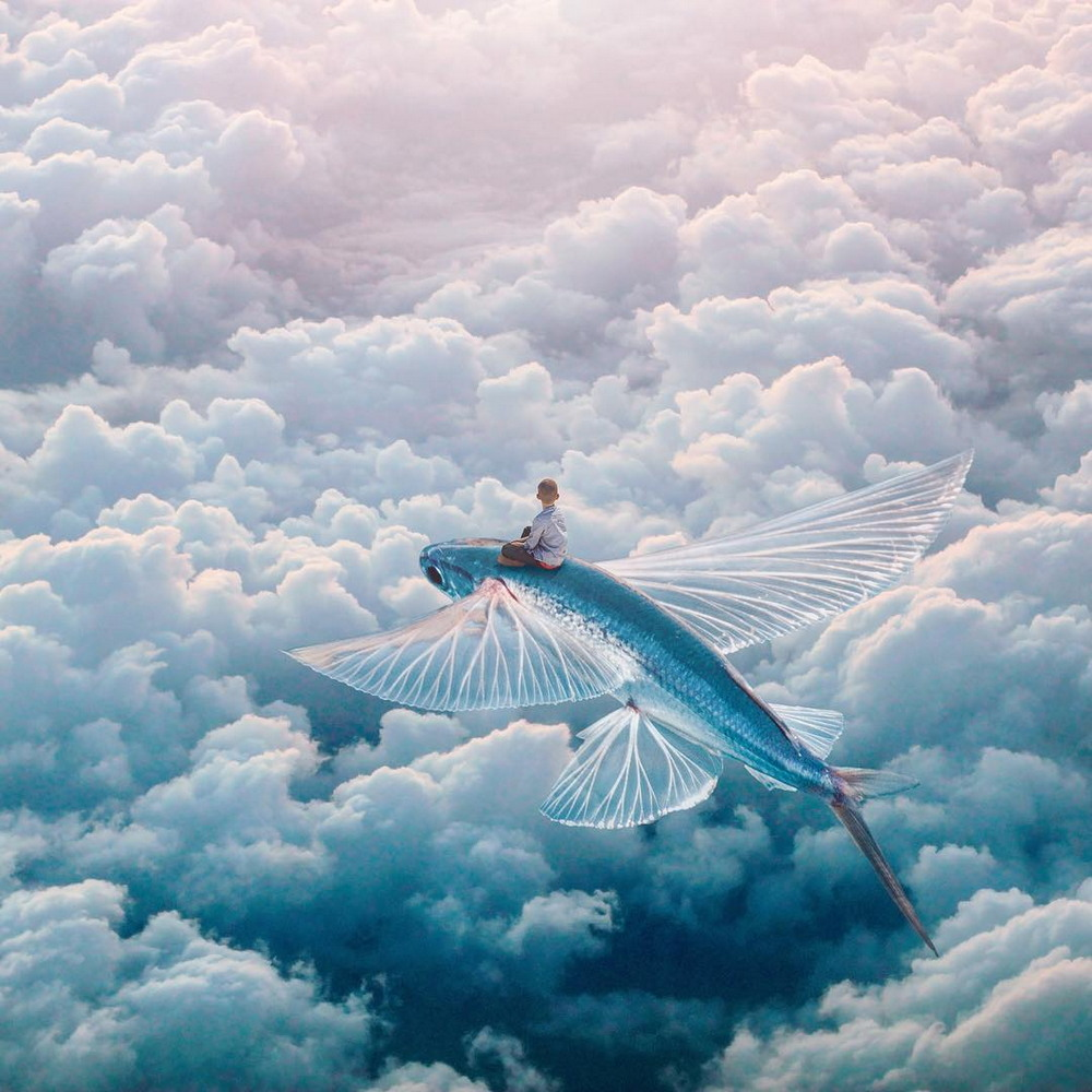 Сказочные миры на сюрреалистических работах Евгения Соловьева