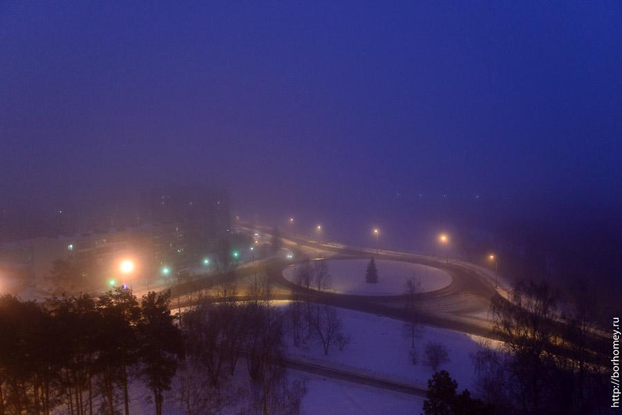 туман над Саровом