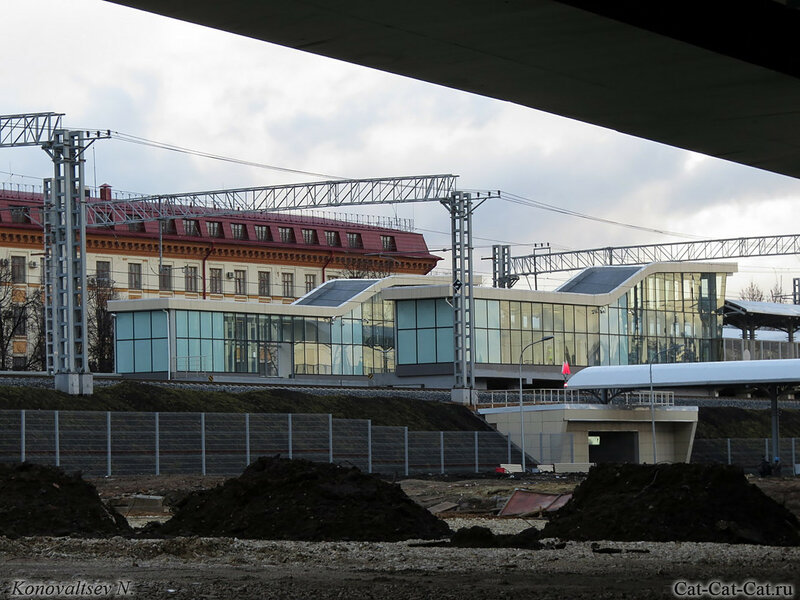 Крылатское - Измайловский кремль.