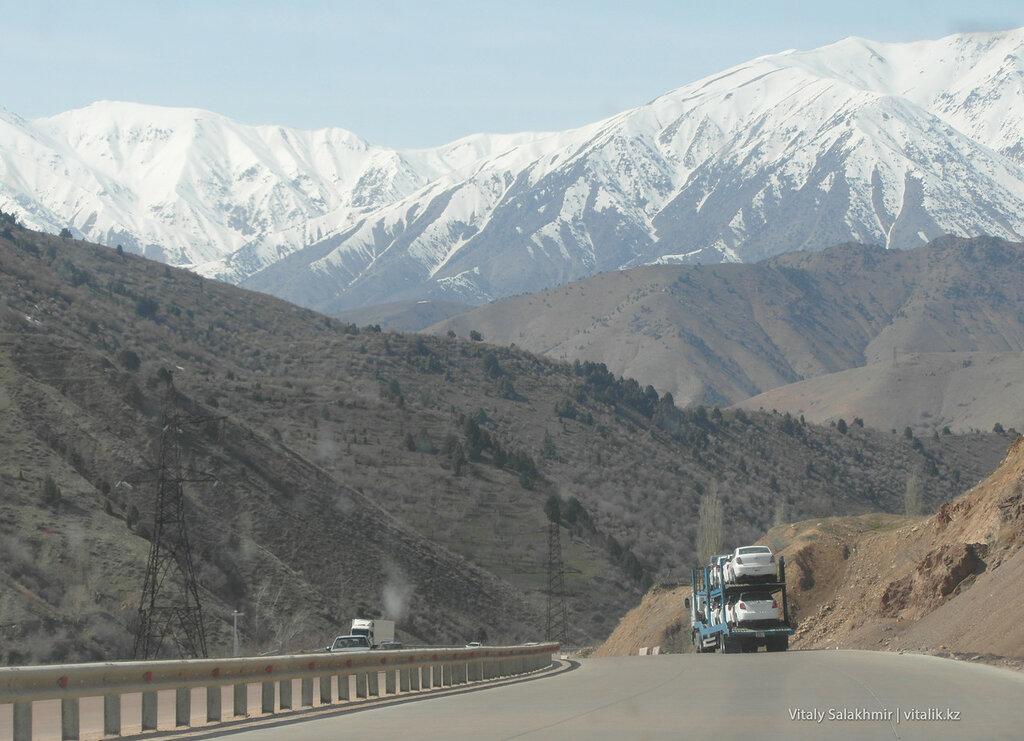 Автовоз через Камчик Узбекистан