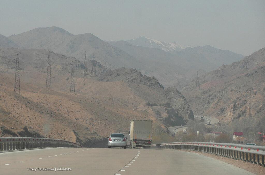 Перевал Камчик Узбекистан