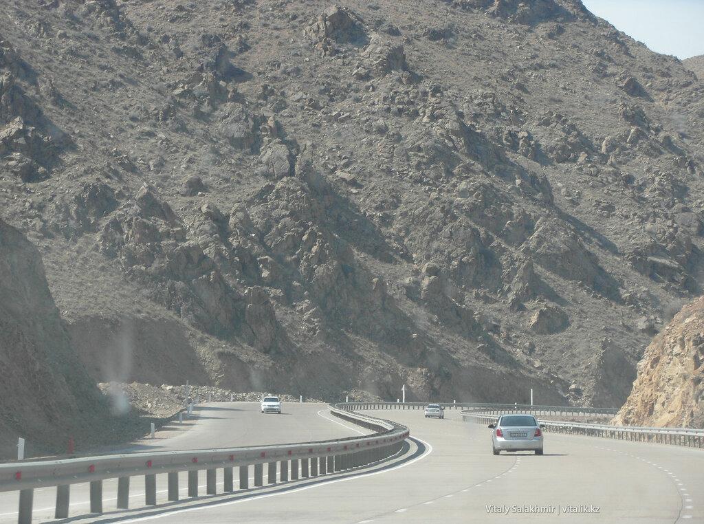 Перевал Камчик, масштаб гор