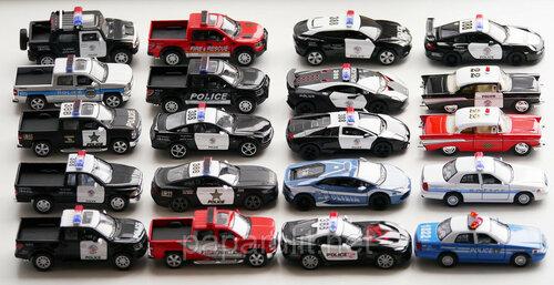 Машинки Кинсмарт серии Патруль