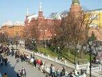 Воскресенье в Александровском саду