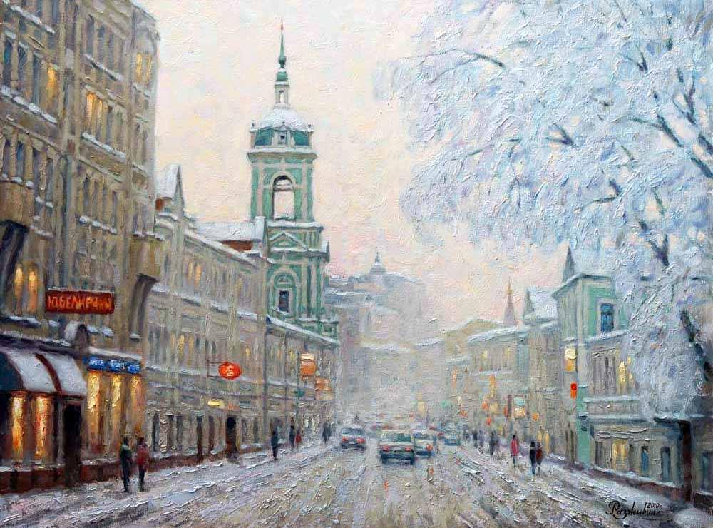 ламинат зимний городской пейзаж тулы фото для нас двери