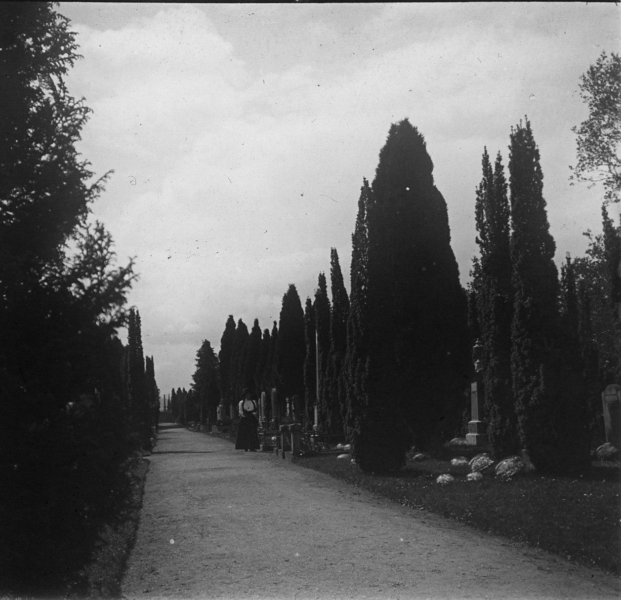 Инвернесс. На кладбище