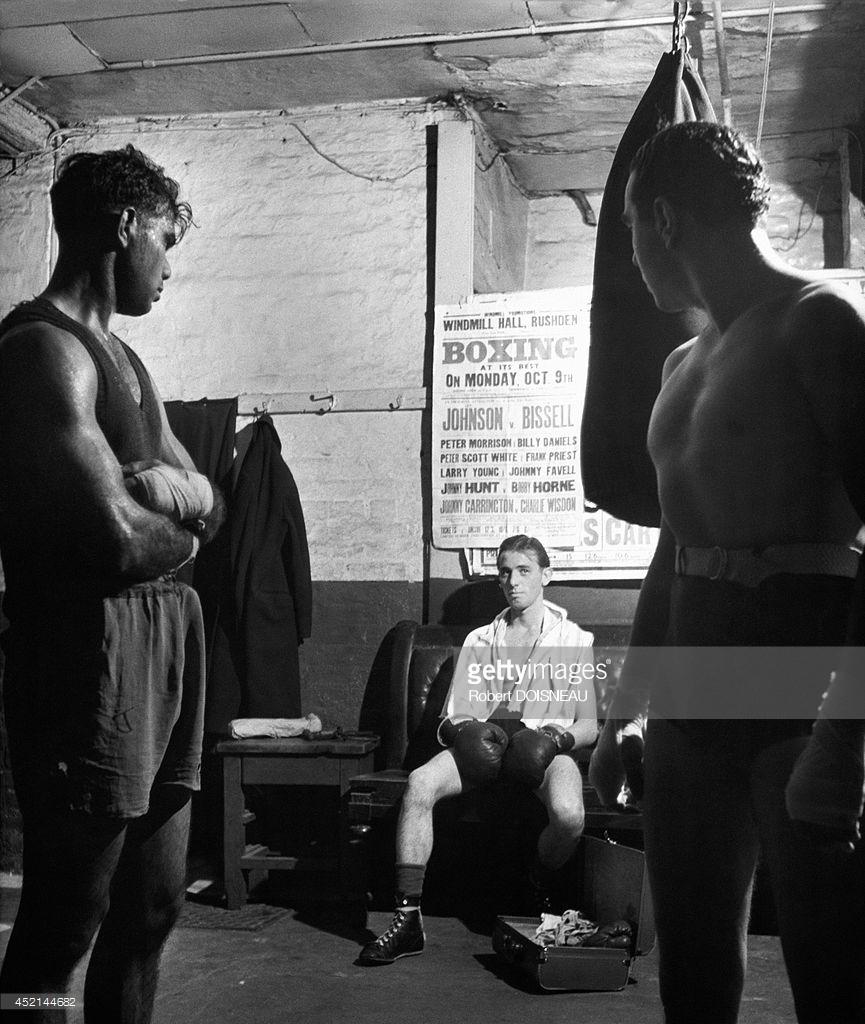 1950. Боксеры в Лондоне