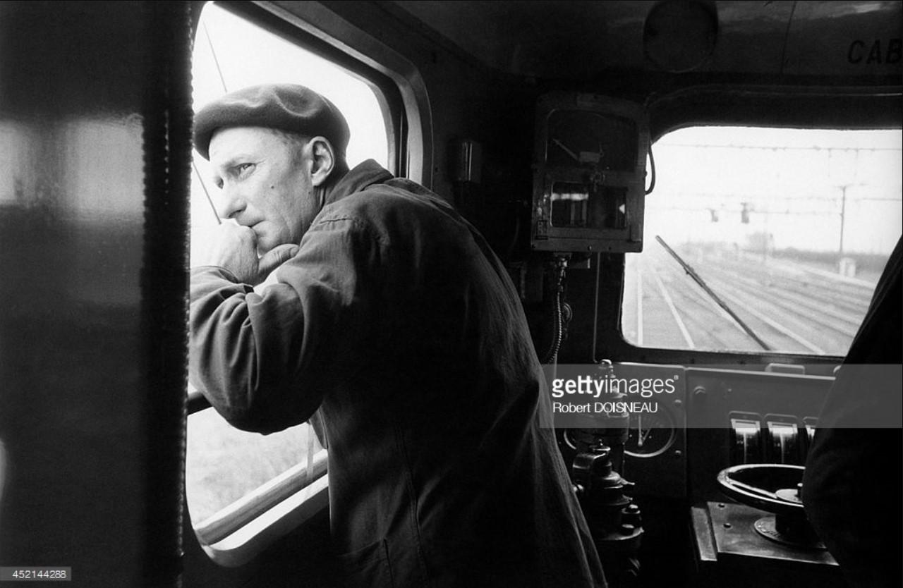 1955. Водитель поезда «Мистраль»