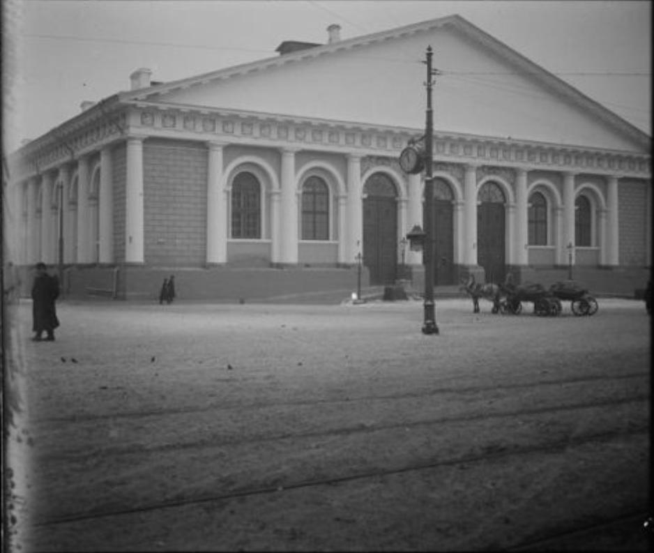 Улица Моховая. Манеж. 1912