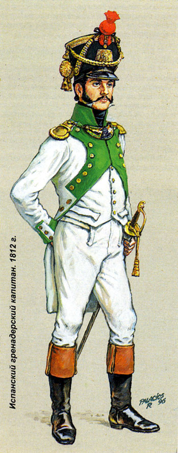 Испанские перебежчики.  1812 г.