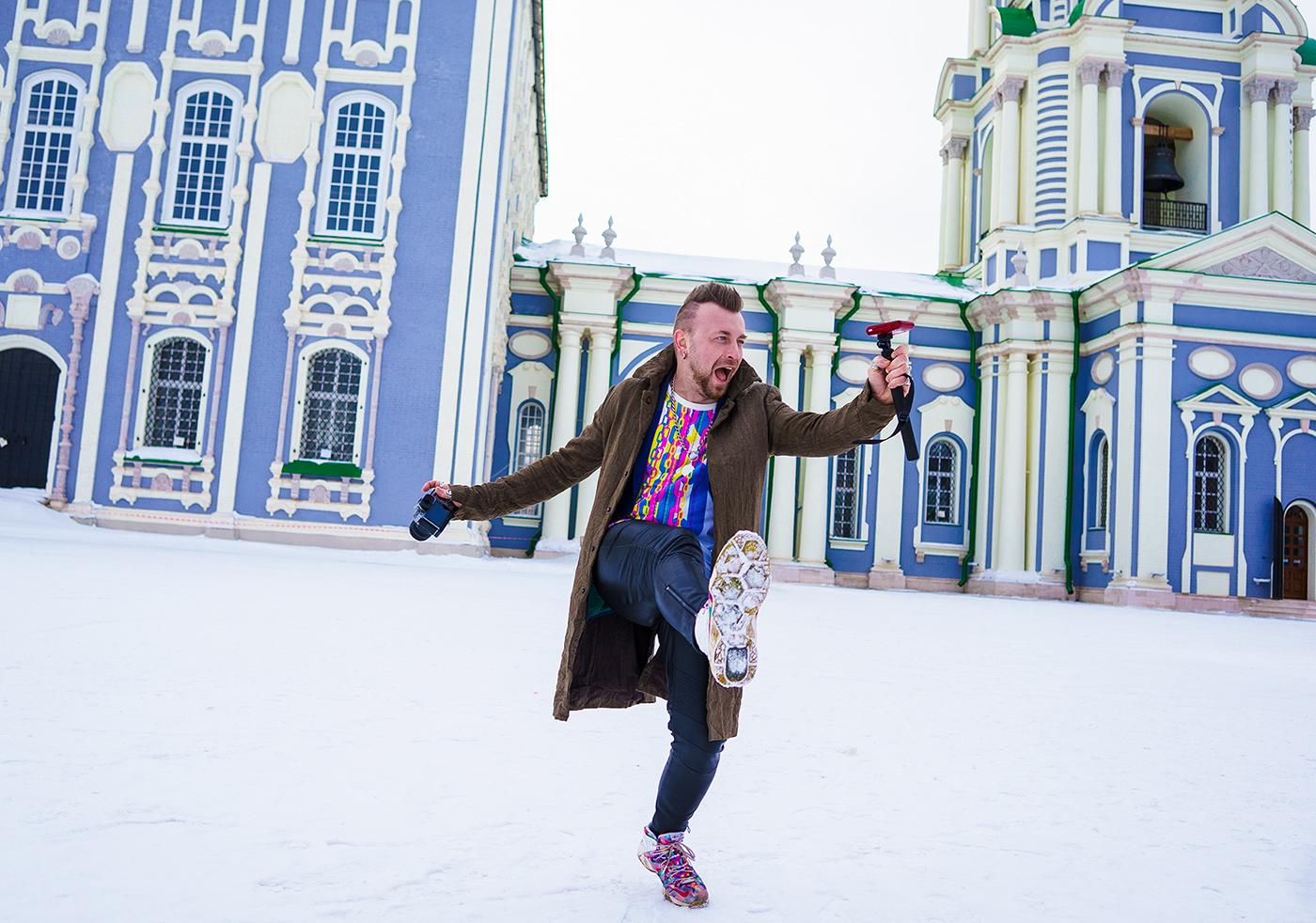Фотограф Пётр Ловыгин: В Туле я вылепил Ждуна и детородный орган (видео)