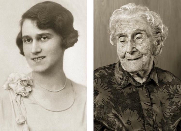 Люди, перешагнувшие 100-летний рубеж сейчас и в молодости