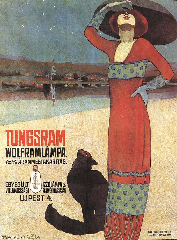 Котики и лампочки - 5 рекламных объявлений из 1912 года