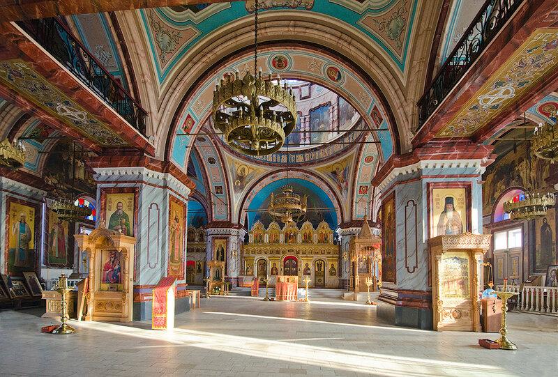 Храм Усекновения главы Иоанна Предтечи г. Зарайск