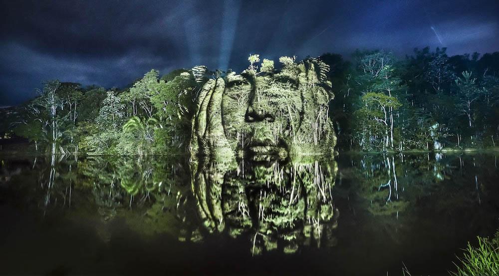 Джунгли Амазонки с человеческим лицом