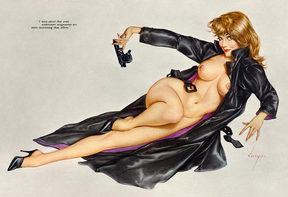 рисунки аниме хайтек красивые голые девушки фото
